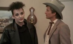 Boy George and Face.
