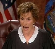 We get to watch judge Judy yell at people through at least 2017.