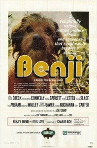 Mark cited Benji as an example of a talking dog, even though that wasn't the case.