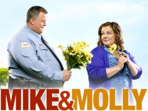 Mike And Molly battle a tornado.