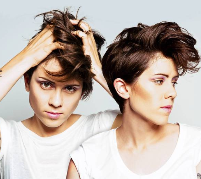 Tegan And Sara Played To An Enthusiastic Sold Out Crowd At Town Ballroom In Buffalo, NY.