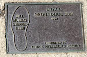 Bill Murray Was Here.