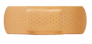 As we learned in the classic Emma Roberts movie, Aquamarine, you should always carry a Bandaid in your Wallet.