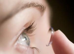 contct lenses