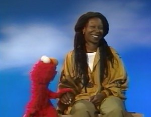 whoopi and elmo