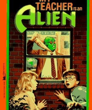 Bookworms: My Teacher Is An Alien (1989)-The Hotshot Whiz Kids Podcast